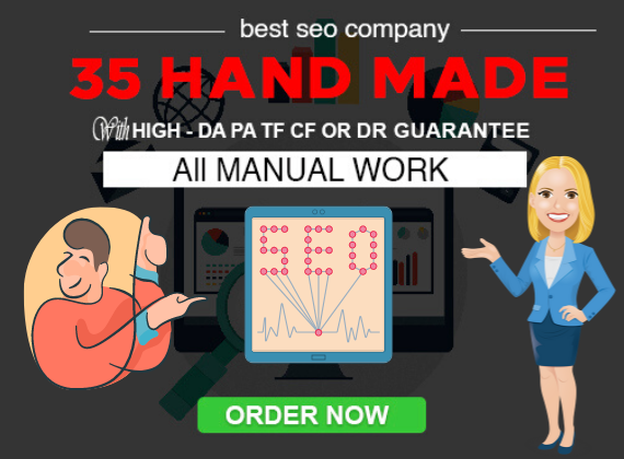 Get 35 HAND MADE Contextual Links 100 DA 100PA links with FULL REPORT 100 RANKING BOOSTER