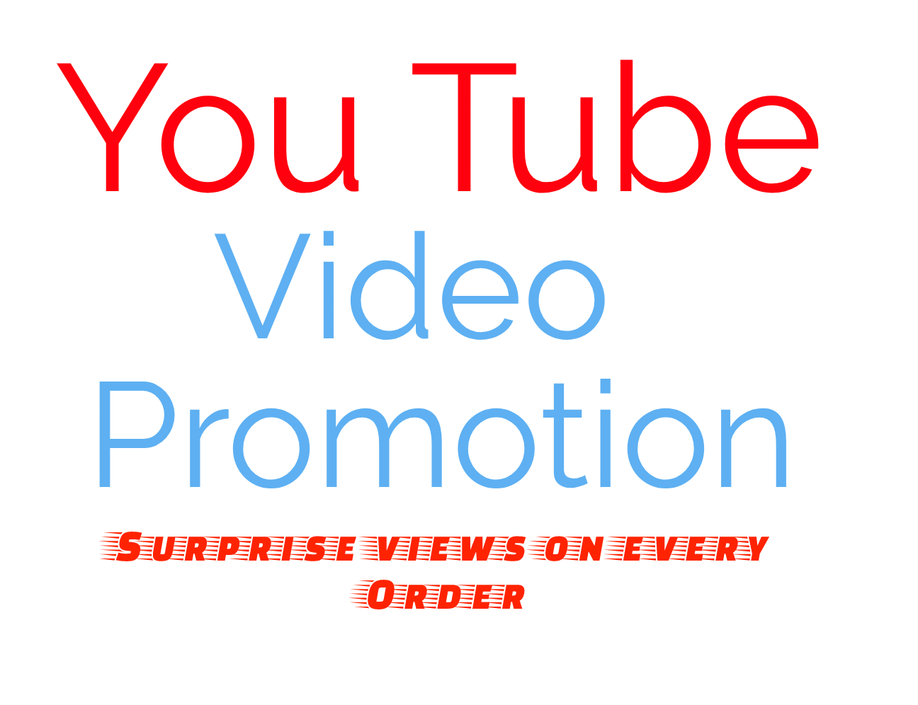 YouTube VIDEO PRMOTION INSTANTLY