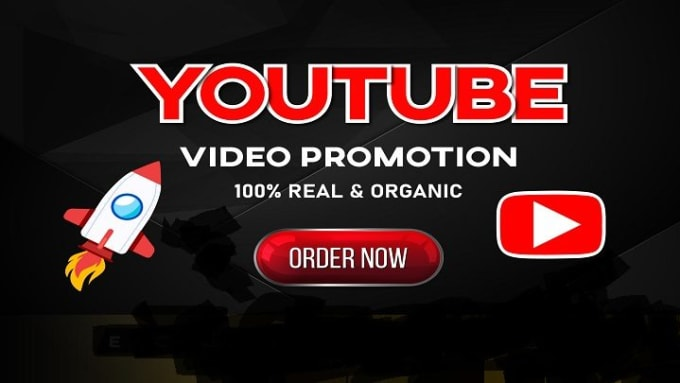 High Quality Youtube video ORGANIC promotion with safe user start within few hours