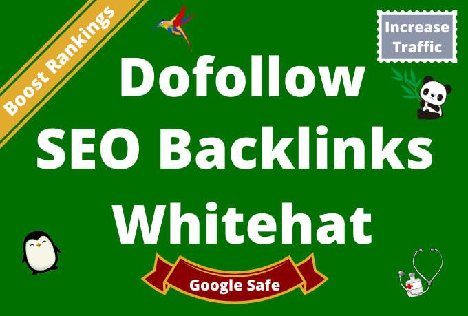 do 70 powerful high da dofollow backlinks, seo link building