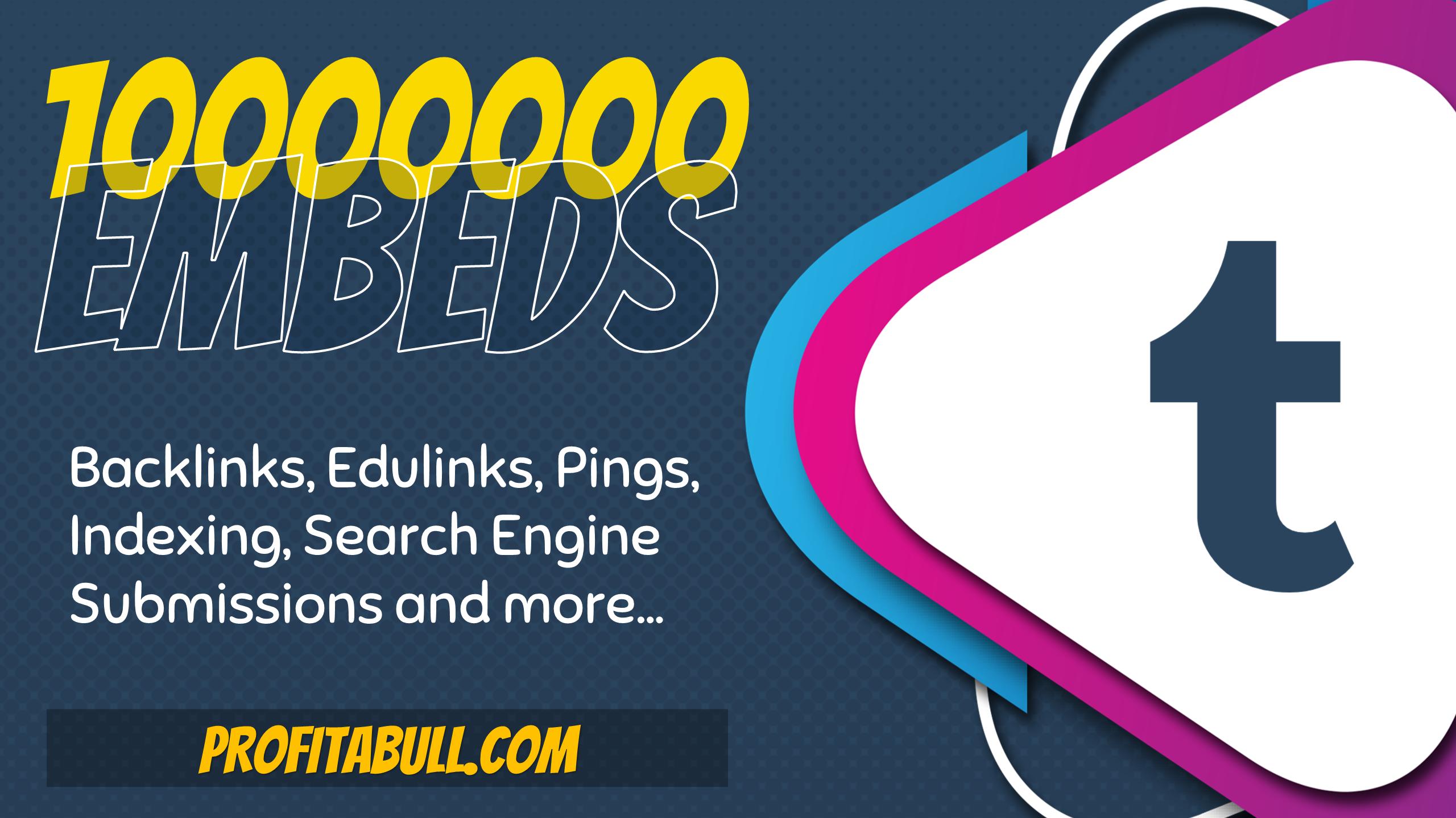 10 Million Tumblr Post Embeds.