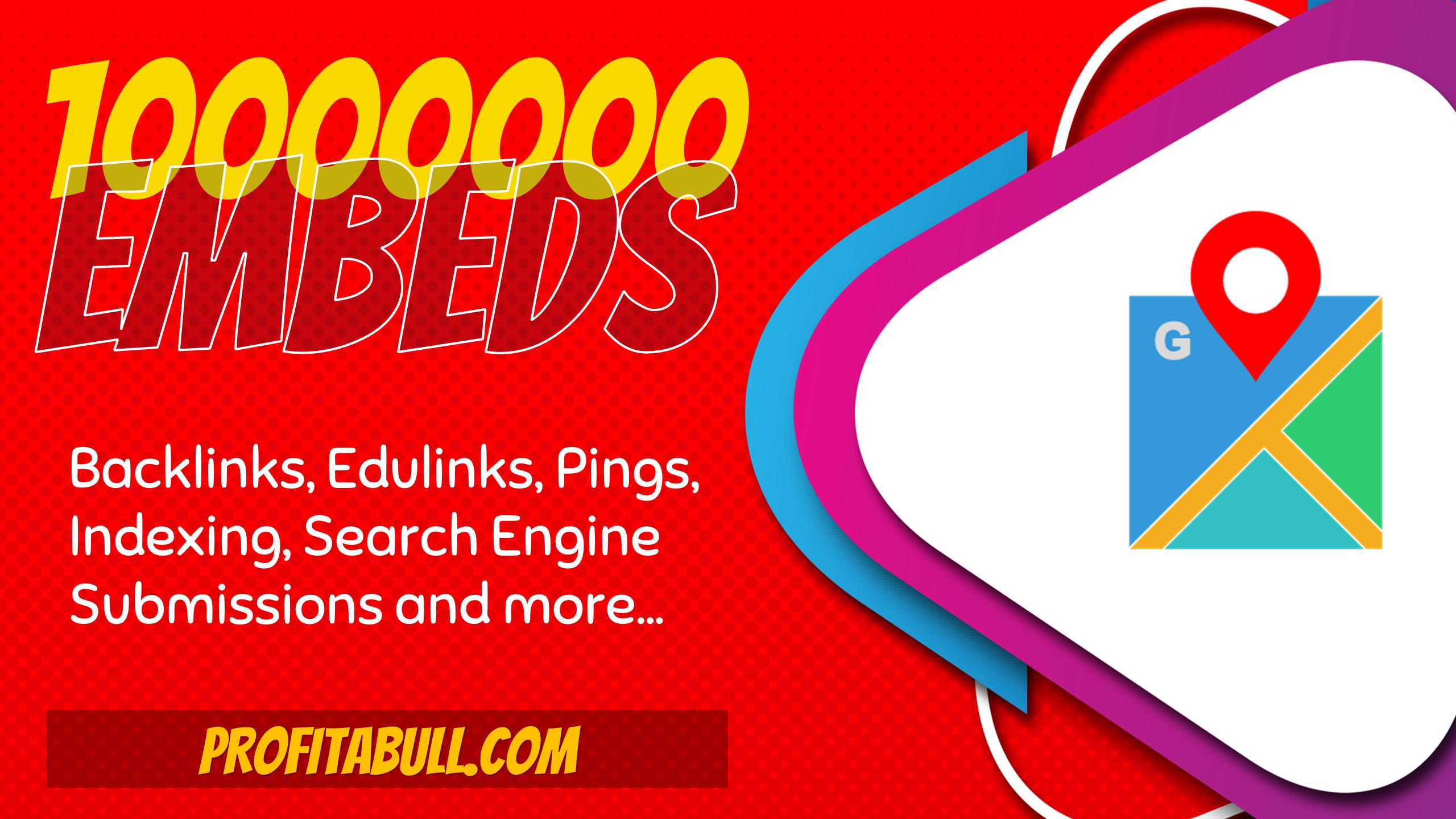 10 Million Google Map SEO Embeds