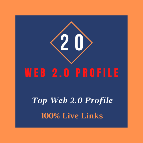 Add 20 Web 2.0 Profiles Backlinks High PR