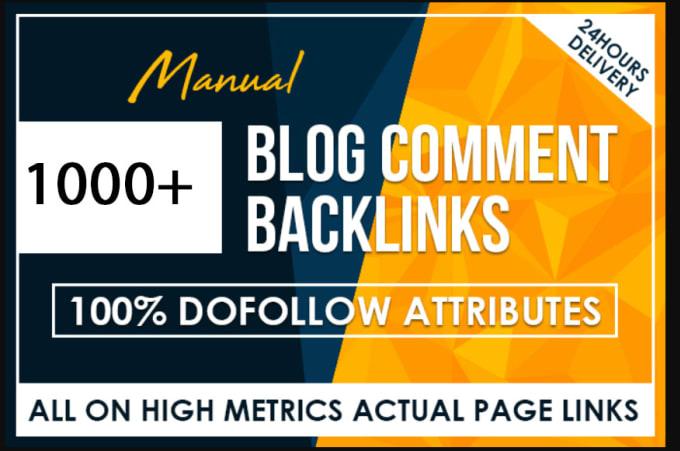 Do 1,000 Blog Comments Panda & Penguin Safe Backlinks