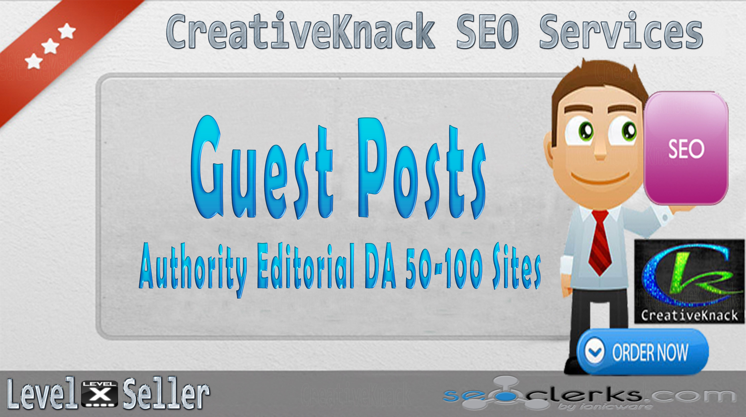 Write And Publish 5X Guest Posts On 5 Top Authority Editorial DA 50-100 Sites only