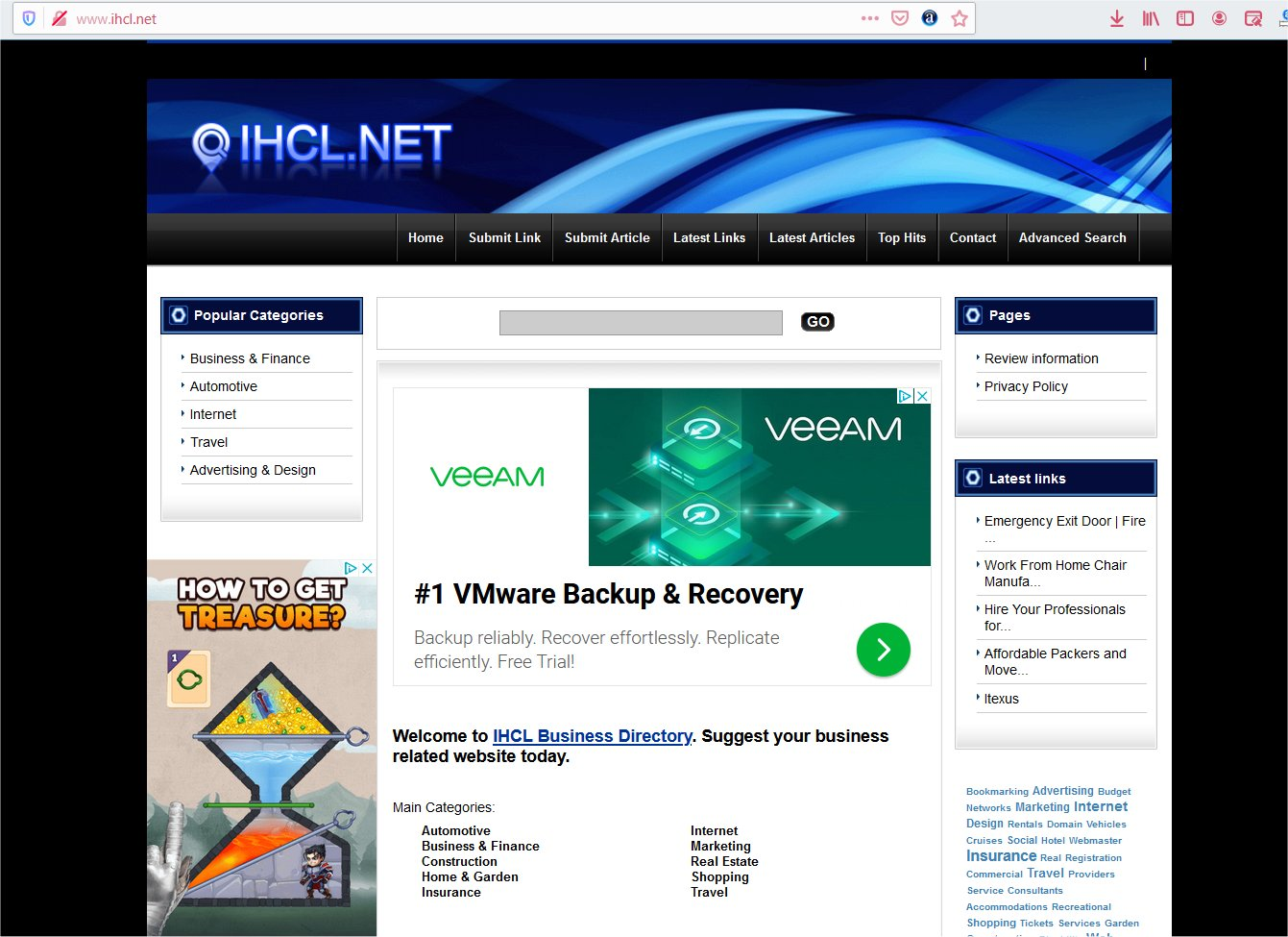 Add your website to IHCL web directory