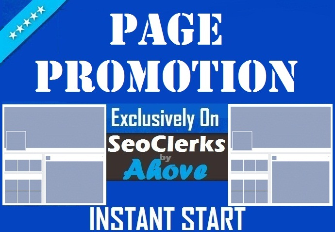 Get Instant Your Social Media Page Promotion