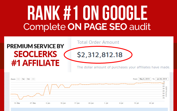 Rank 1 on Google - Complete website audit