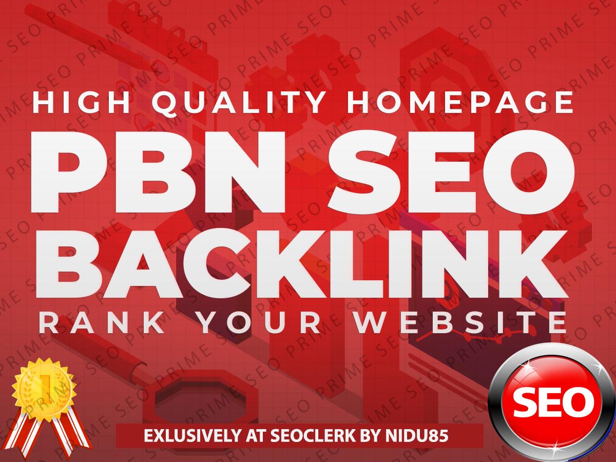 Build 25 High Quality DoFollow PBN SEO Backlinks to rank website
