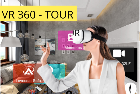 I will do virtual reality 360 tour for your business, eCommerce or wordpress