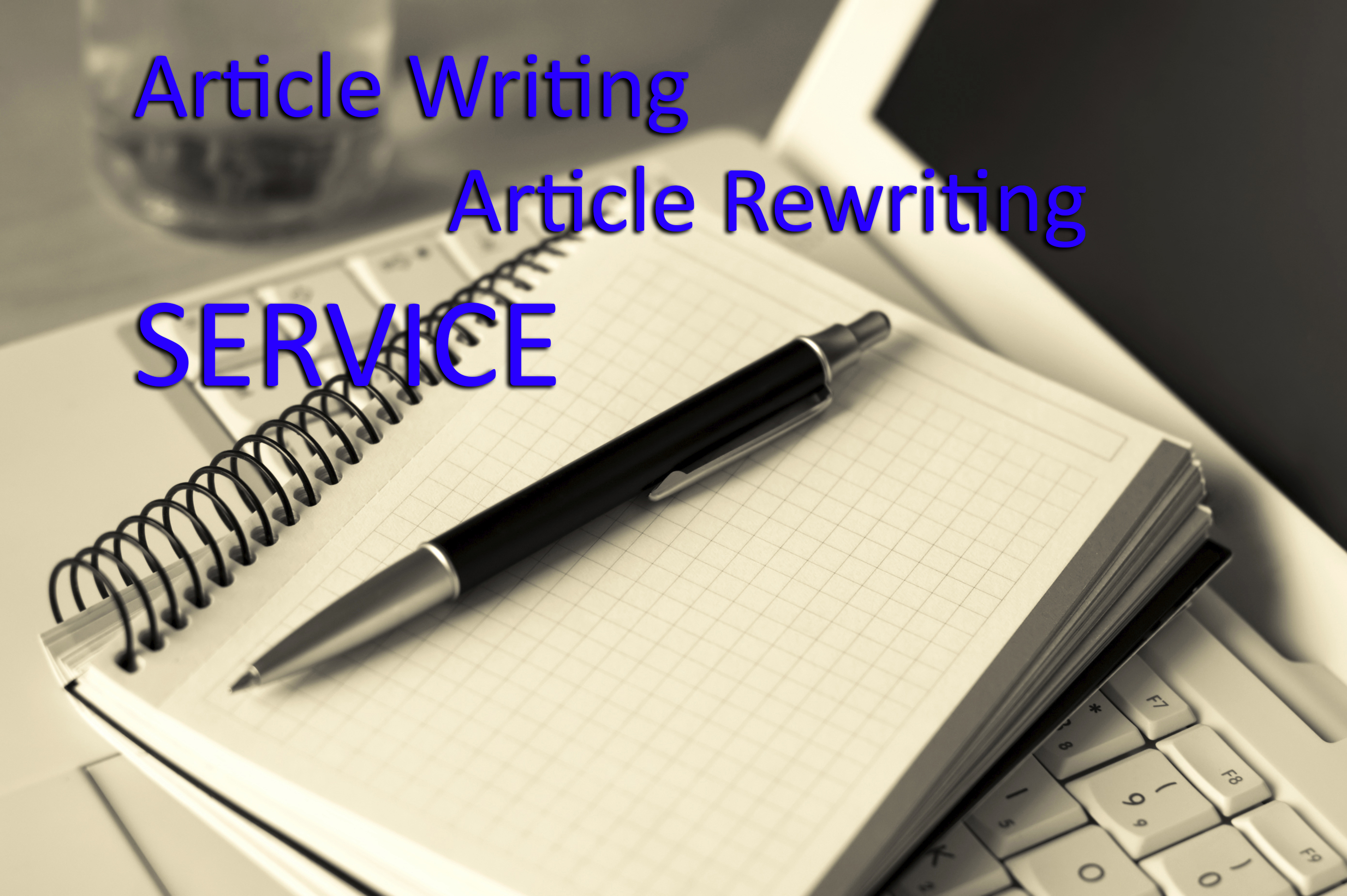 I will write 500 word SEO optimized articles and blogs on any topic