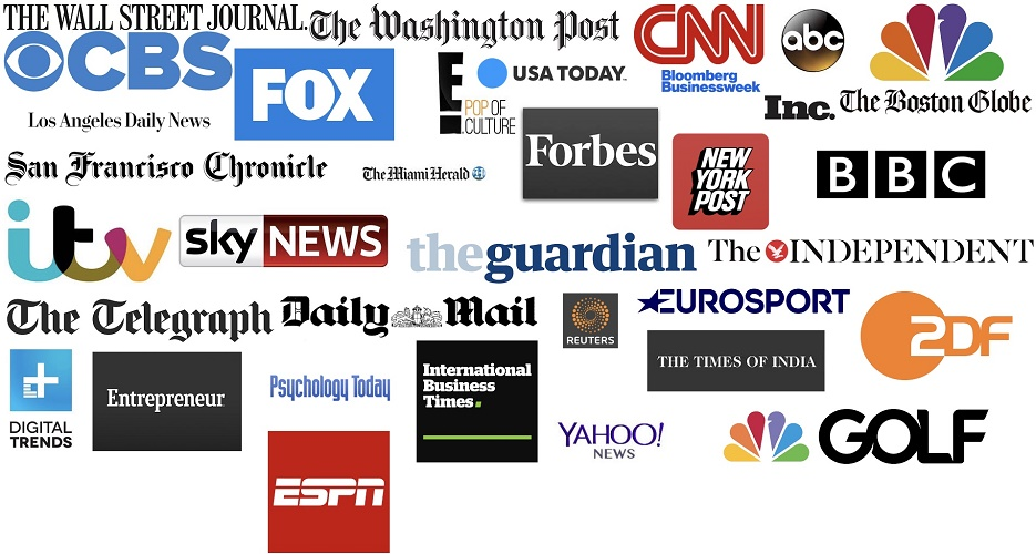Backlink from Forbes,  BBC CNN,  Nytimes,  Guardian,  Washington Post,  Fox News
