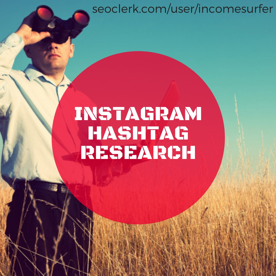 do an awesome instagram hashtag research