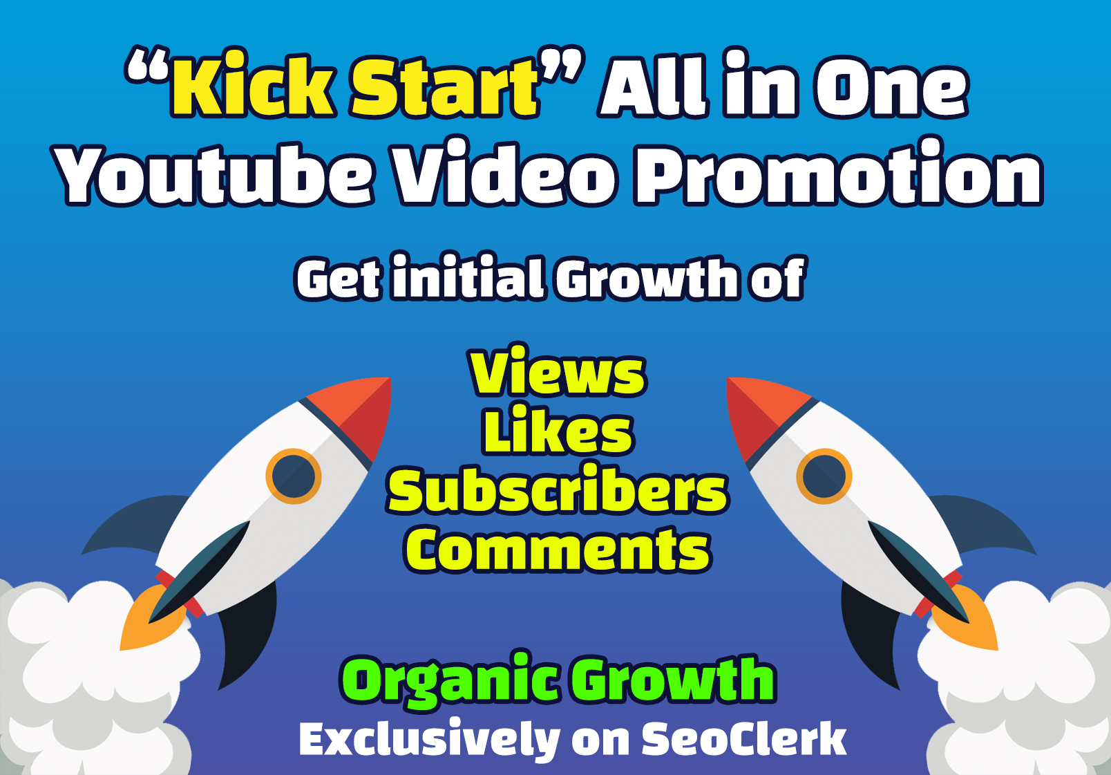 YouTube Video Ranking Kick Starter Promotion - Initial Real YouTube Ranking with Backlinks