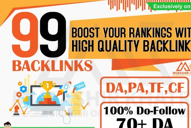 99 Profile Backlinks Including DA96 Premium Backlinks - Manually DONE