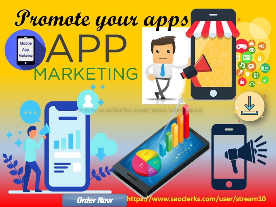 Promote your app or newly developed apps,  games, websites over 500K apps lover