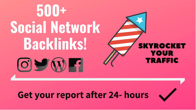 Provide 500 Social Network Profile Backlinks from DA90 Plus websites