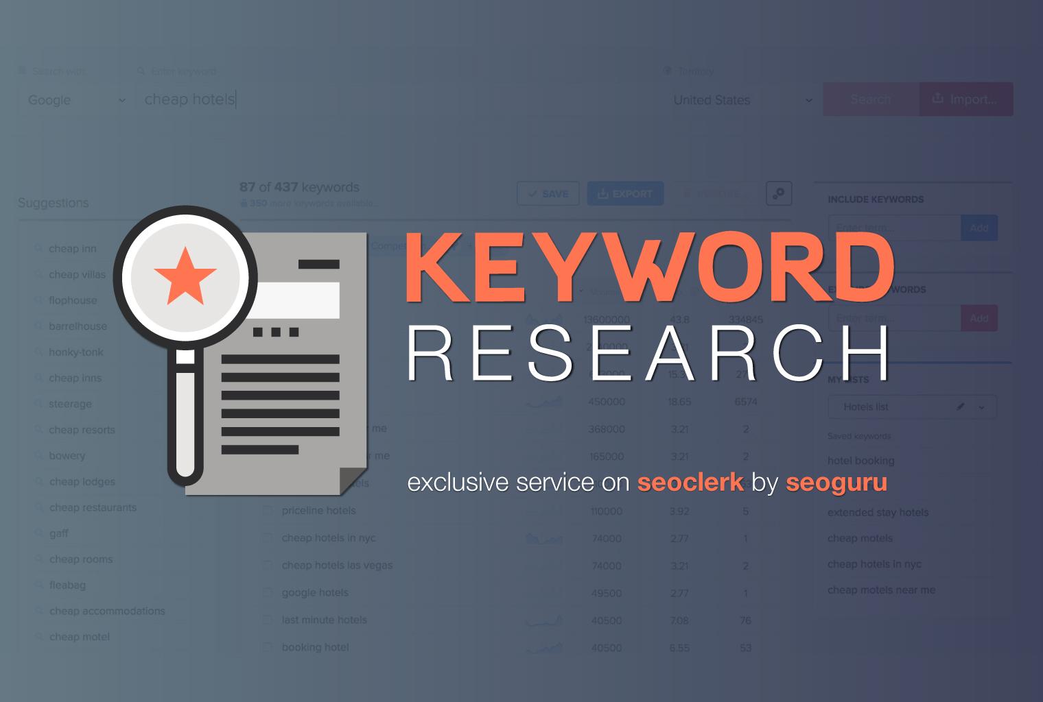 Professional SEO Keyword Research