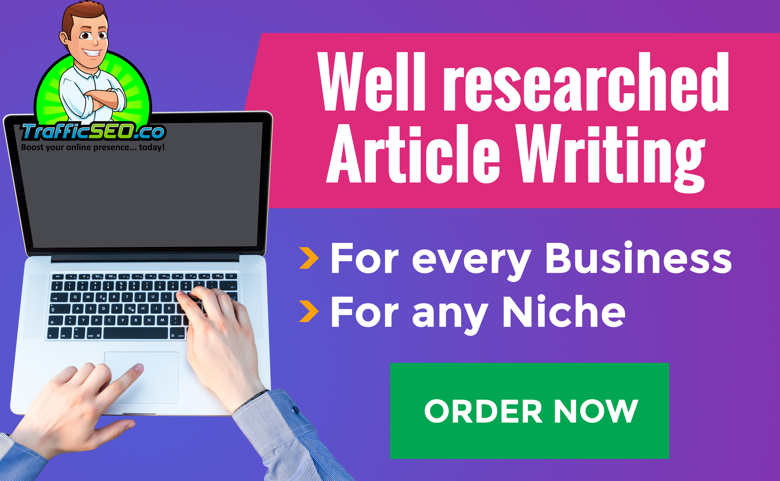 SEO Article Writing for any niche