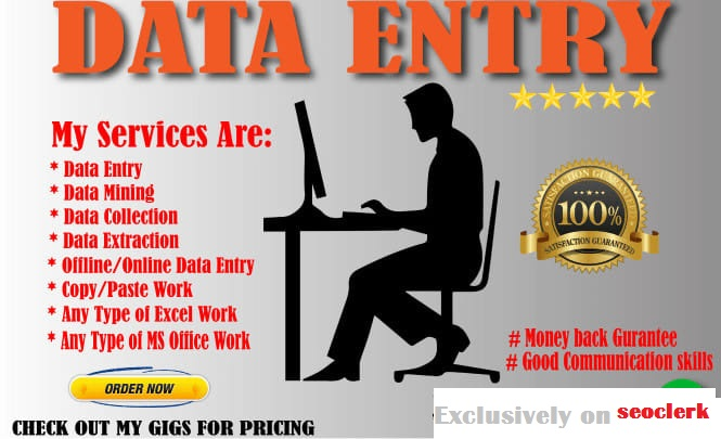 I will convert PDF to word,  PDF to excel,  image/scanned page to word/excel data entry work