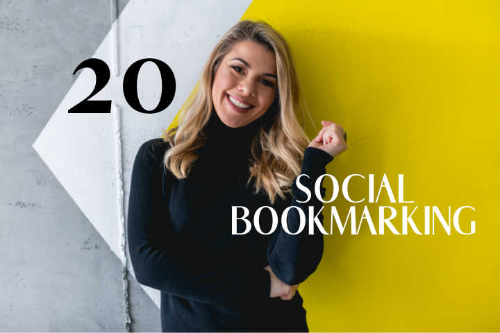 Create 20 Social Bookmarking For Google Ranking