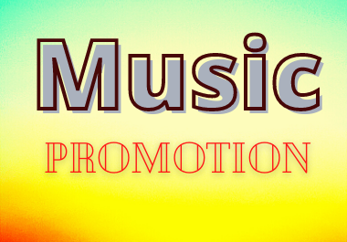 Music Promotion Service in Your Music Track