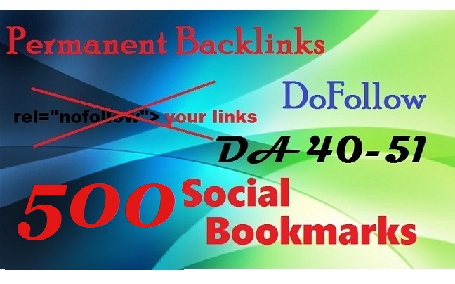 Do 500 Permanent Social Bookmarks Links To Your Site
