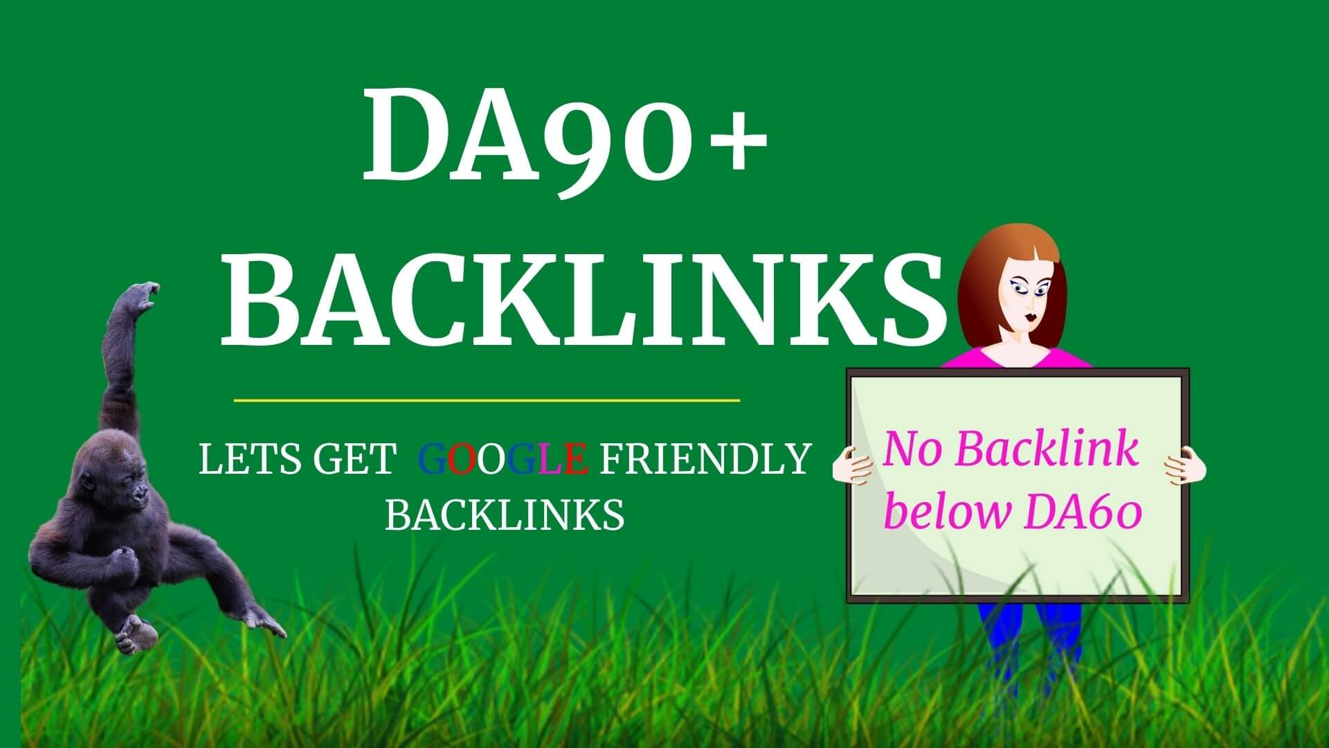 Only DA100 to DA60+ Backlinks from PDF,  Gov,  Wiki,  Edu,  Forum to rank high competition keyword