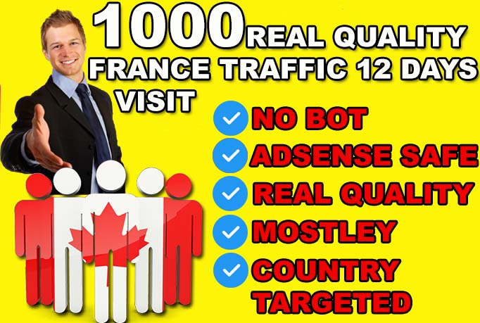 DRIVE 12000 CANADA Real quality Visitors To Your Website
