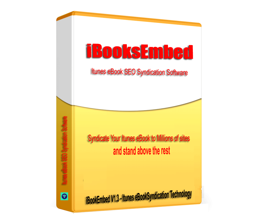 iBooksEmbed -iTunes eBook SEO & Syndication Software V1.3