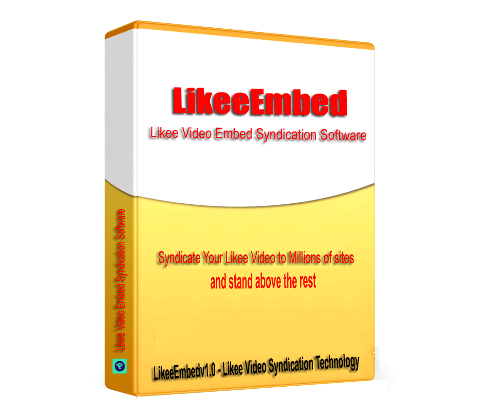 LikeeEmbed - Likee Video Embed Generator & SEO Backlinks Builder software V1.0.1