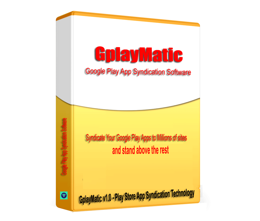 GplayMatic - Google PIay Store App SEO Link Building & Syndication Software V1.0.1