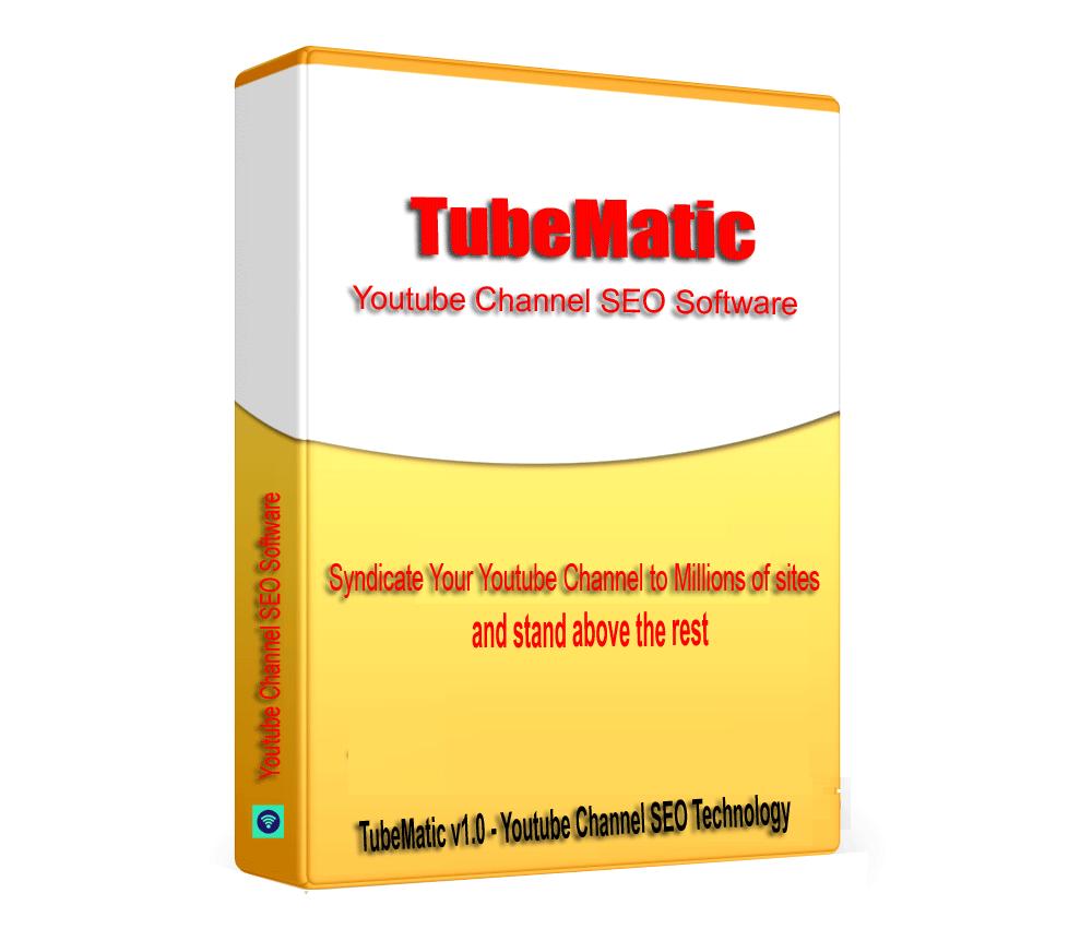 TubeMatic - TubeMatic Channel SEO Backlink builder Software V1.0.1