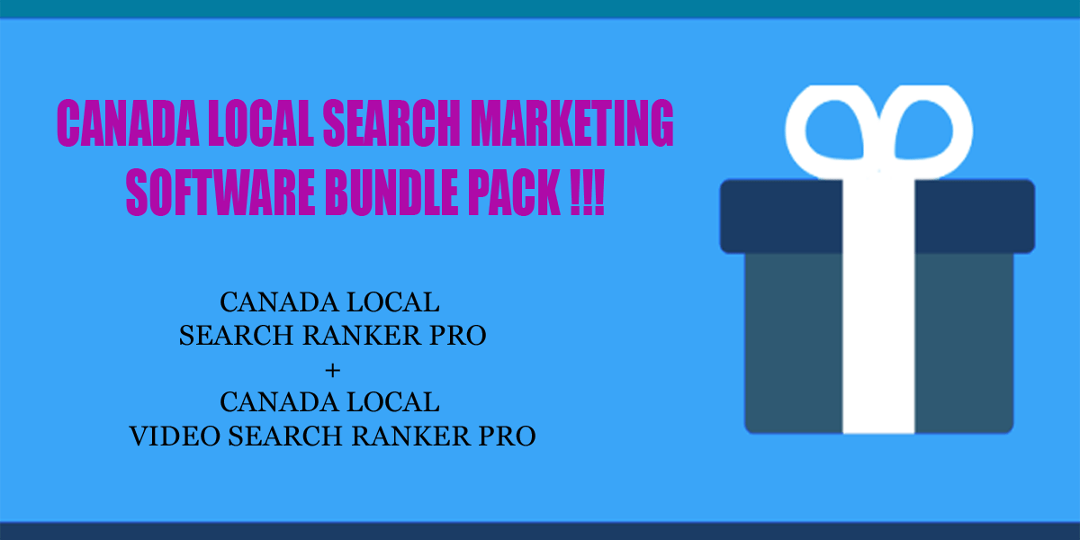 Canada local search ranker software bundle pack