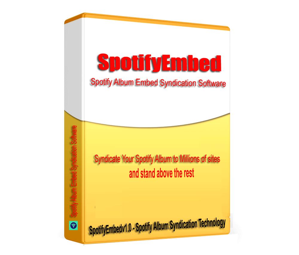 SptifyEmbed - Sptify Artist Audio Album SEO Embed Syndication Software V1.0.1