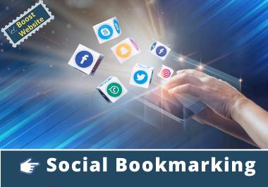 50 Powerful High-Quality Social Bookmarks SEO backlinks manually High DA PA