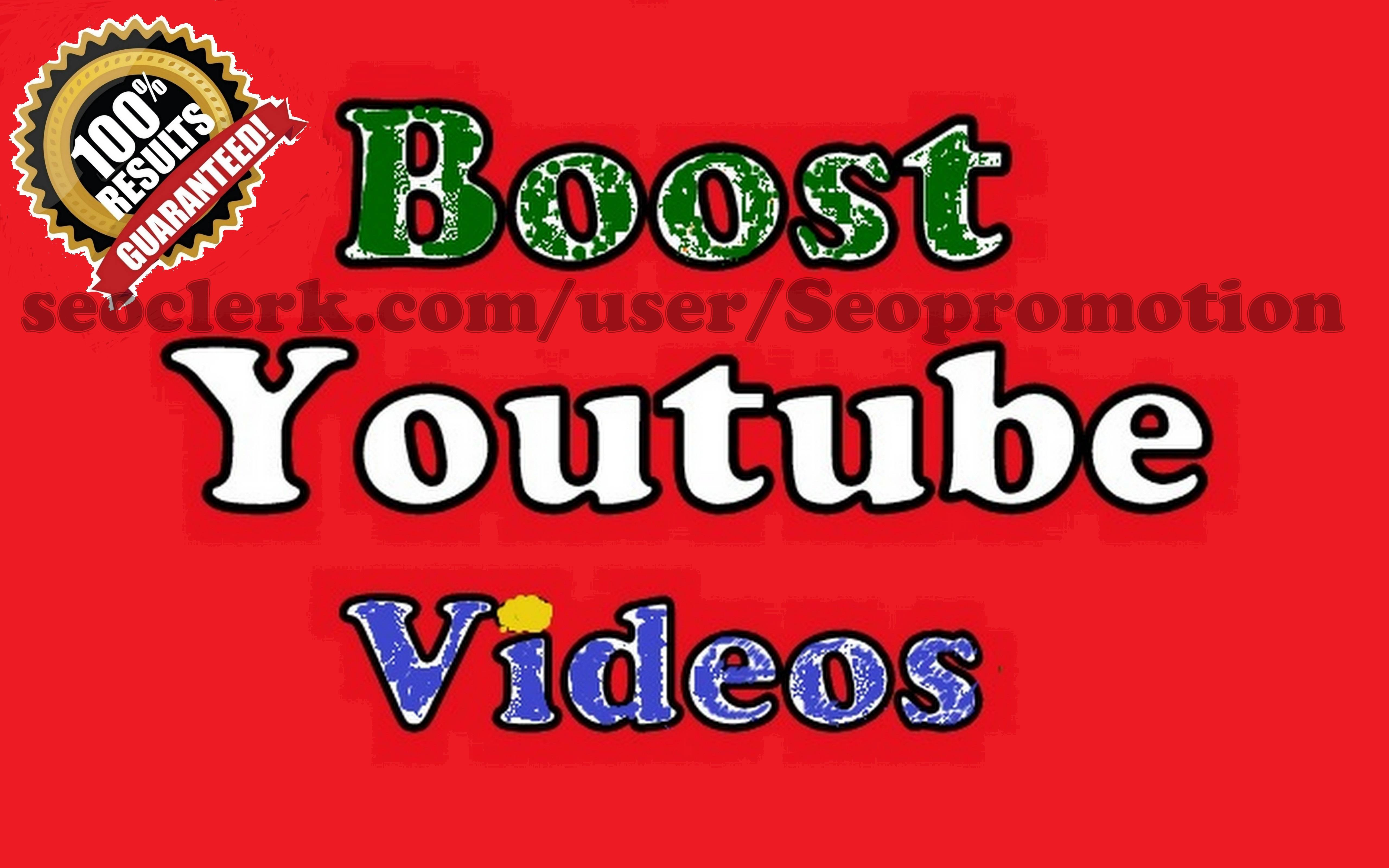 Youtube video Boost Marketing through Social Ads Fast & Safe Guaranteed