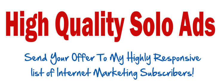 Promote your Solo Ads, email ads, products, servic...