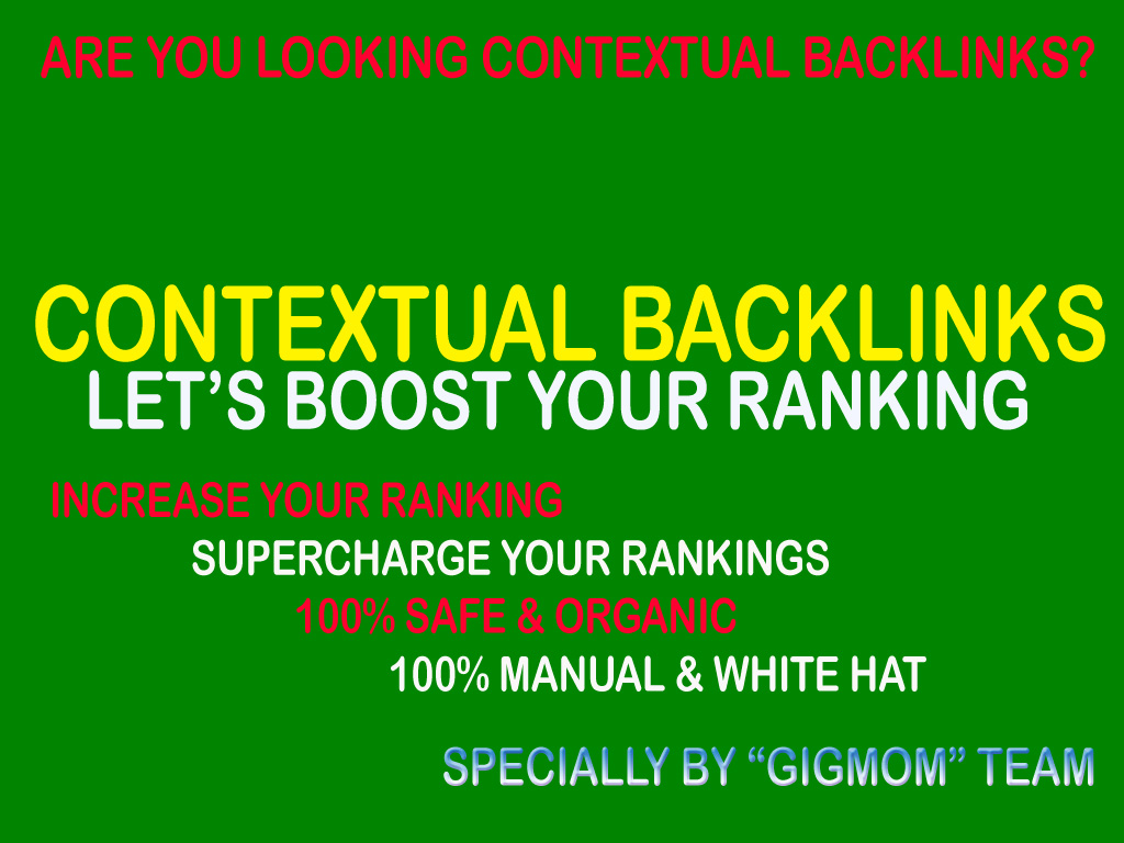Unique 100 Contextual Backlinks to Rank Higher - Seocheckout Marketplace