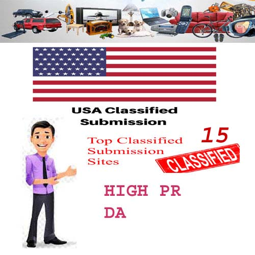 I will post yours Ads in Top Rated USA Classified Sites Manually