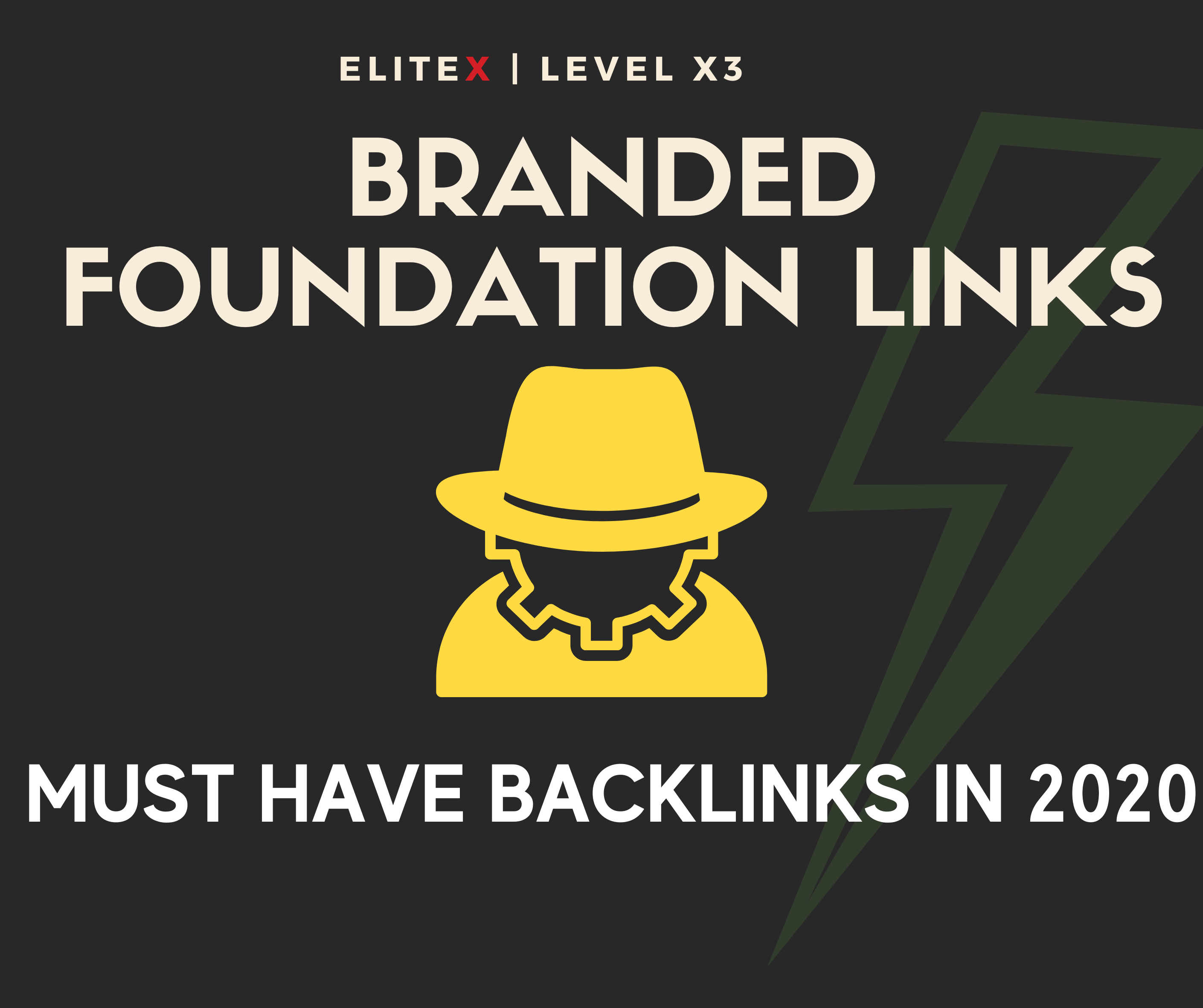 HIGH AUTHORITY BRANDED FOUNDATION LINKS 2020 - MUST HAVE