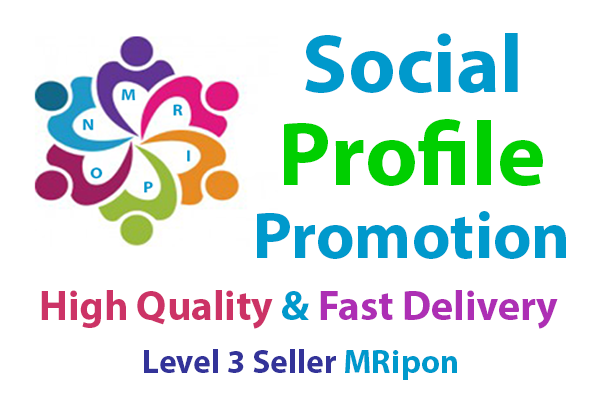 Start Instant High Quality Social Profile Promotion