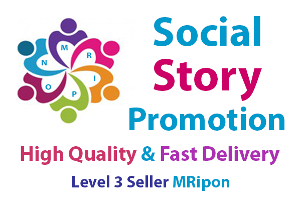 Start Instant High Quality Social Story Promotion