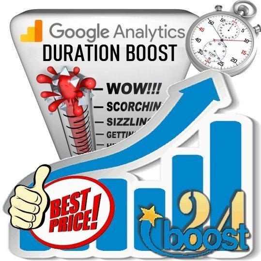 Google Analytics Visit Duration Boost for 30 days
