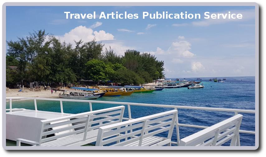 Publish articles about travel or tourism