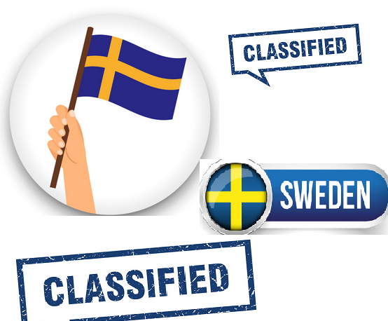 post your website to 10 high traffic sweden classified sites