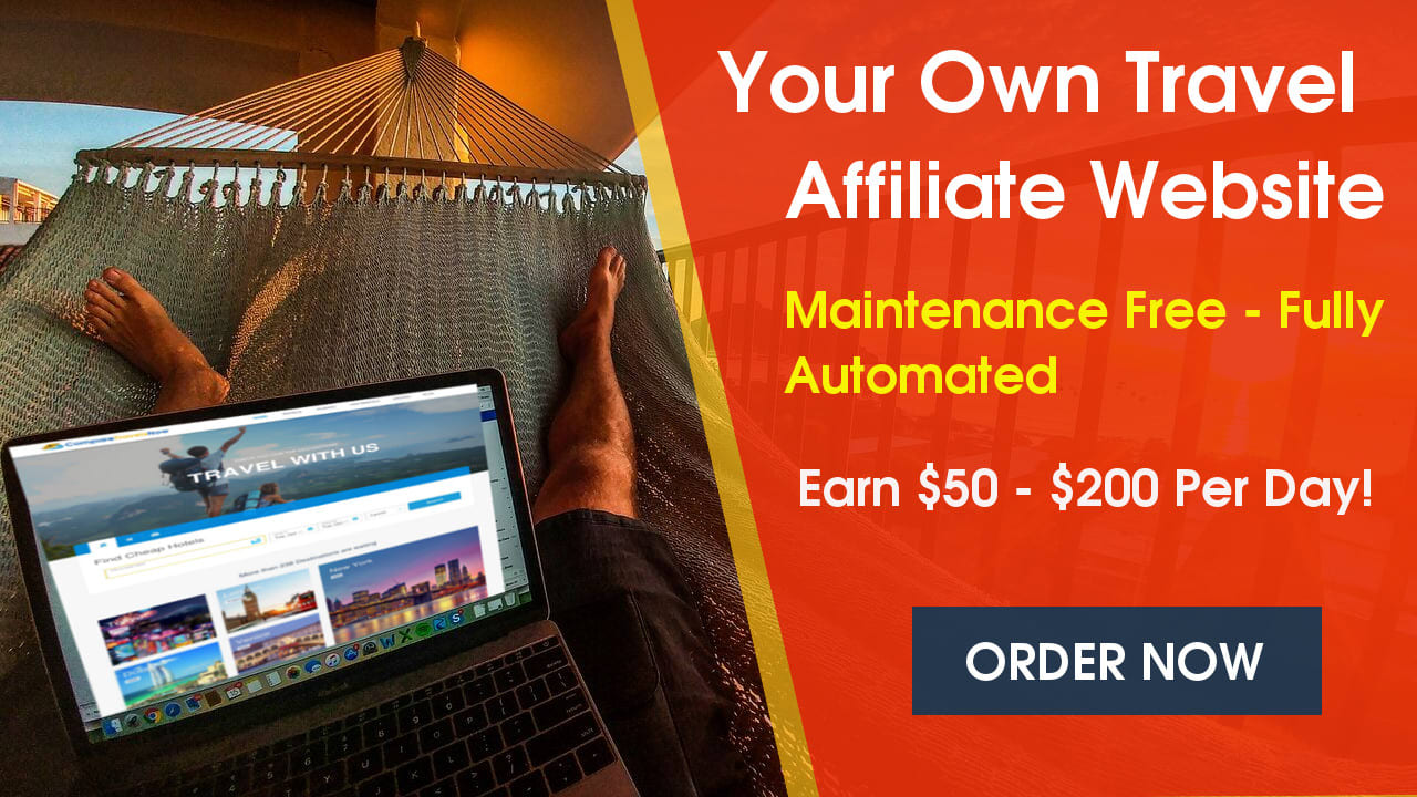 I will create fully automated travel website for passive income
