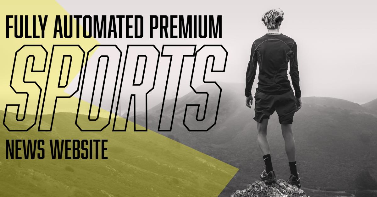 I will build sports news wordpress website for passive income