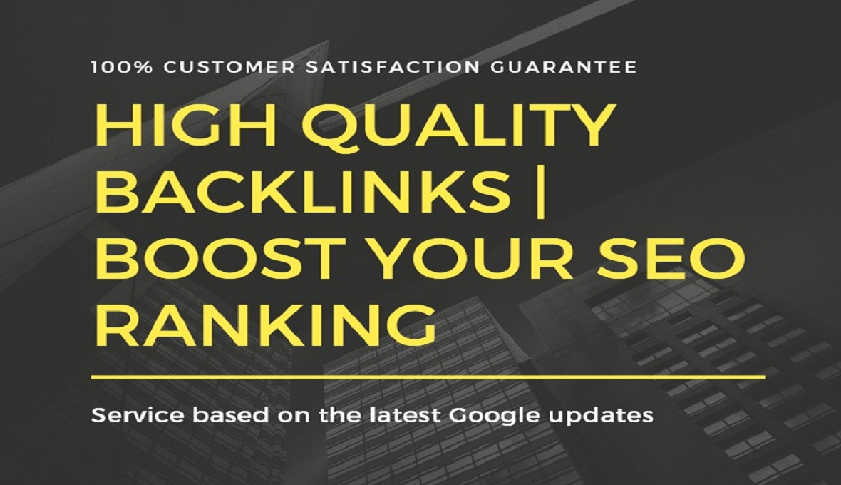 50 Backlinks From Do follow High Quality DA-70+ Domains Off page SEO Service For Ranking