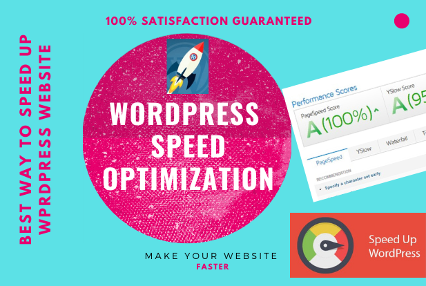 WordPress website speed optimization with Gtmetrix